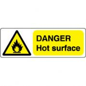 Warn171 - Danger Hot surface